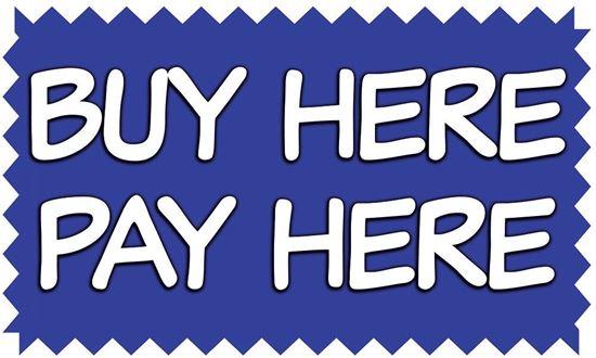 Buy Here Pay Here Vinyl Banner