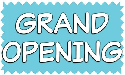 Picture of Grand opening vinyl banner